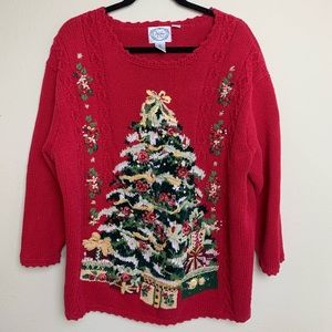 STICHES IN TIME Vintage Christmas Sweater